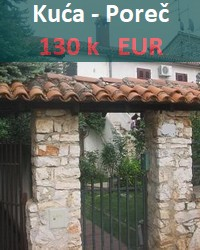 House for sale in Porec