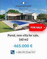 New house in Poreč 465,000 €